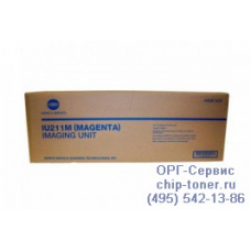 Блок проявки IU-211M пурпурный Konica Minolta bizhub С203 / C253 оригинальный
