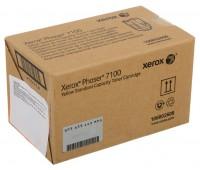 Тонер-картридж желтый Xerox Phaser 7100 / 7100N / 7100DN оригинальный