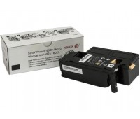 Картридж 106R02763 черный для Xerox Phaser 6020 / 6022,  WorkCentre 6025 / 6027 оригинальный
