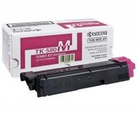 Тонер-картридж пурпурный TK-580M для Kyocera Mita FS-C5150 / FS-C5150DN  Ecosys P6021 / P6021cdn оригинальный