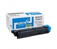 Тонер-картридж голубой TK-580C для Kyocera Mita FS C5150 / FS-C5150DN  Ecosys P6021 / P6021cdn оригинальный