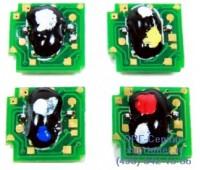 Чип черного картриджа HP Color LaserJet CP6015 /CM6030 / CM6040