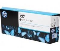 Картридж матовый черный HP 727 / C1Q12A повышенной емкости для HP DesignJet T920 / T930 / T1500 / T1530 / T2500 / T2530 (300МЛ.) оригинальный
