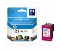 Картридж струйный HP 122 цветной оригинальный