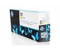 Картридж желтый  HP 727 / F9J78A  повышенной емкости для HP DesignJet T920 / T930 / T1500 / T1530 / T2500 / T2530 (300МЛ.) оригинальный