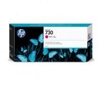 Картридж пурпурный HP 730 / P2V69A повышенной емкости для HP DesignJet T1700 (300МЛ.) оригинальный