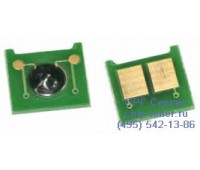 Чип голубого картриджа HP Color LaserJet CP3525n